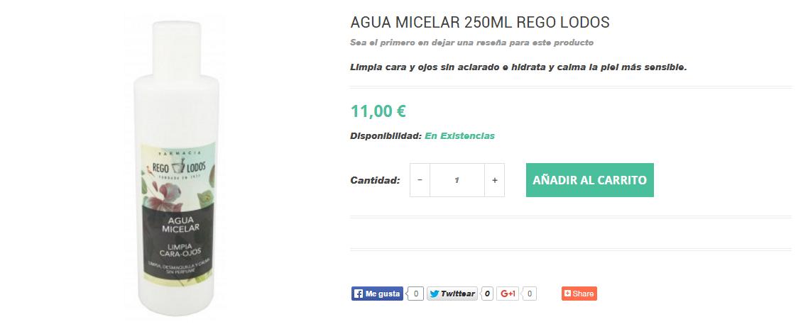 comprar online agua micelar laroche regolodos