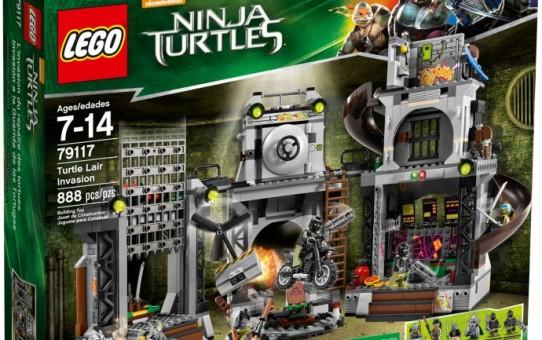 la guarida de las tortugas ninja