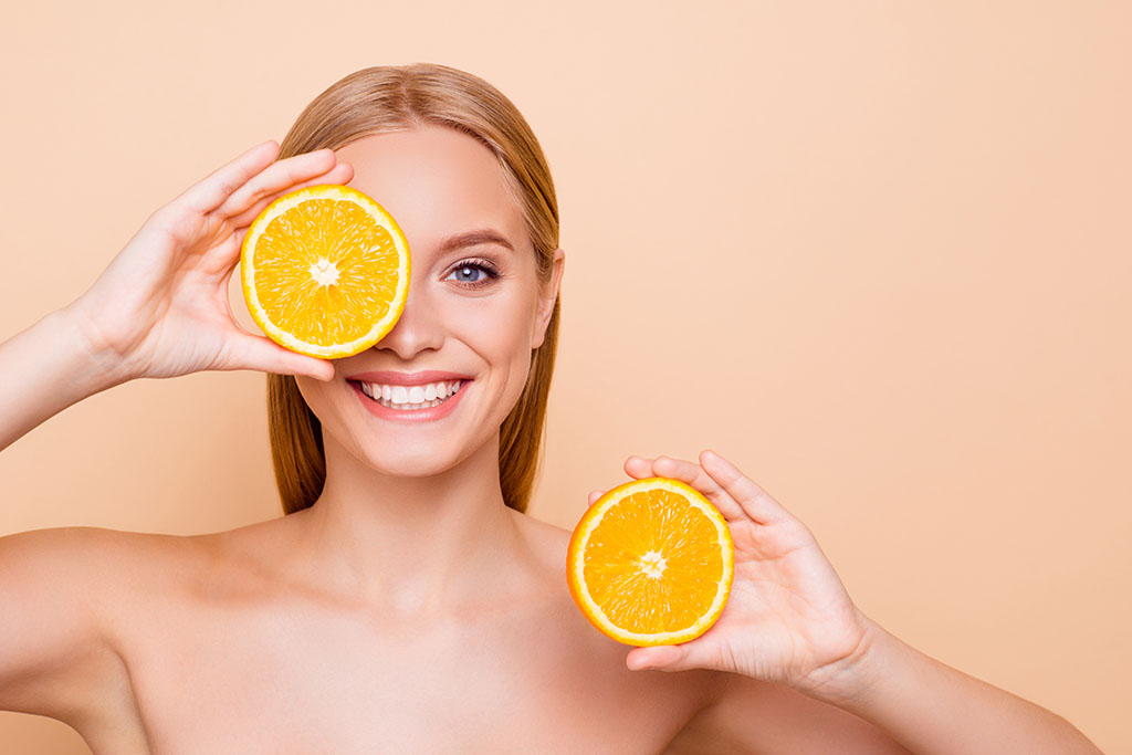 Opiniones de la vitamina C para la cara